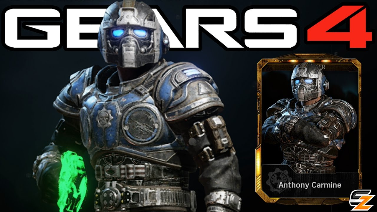 Gears Of War 4 Anthony Carmine Character Multiplayer