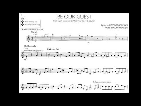 DISNEY | Be Our Guest | Clarinet