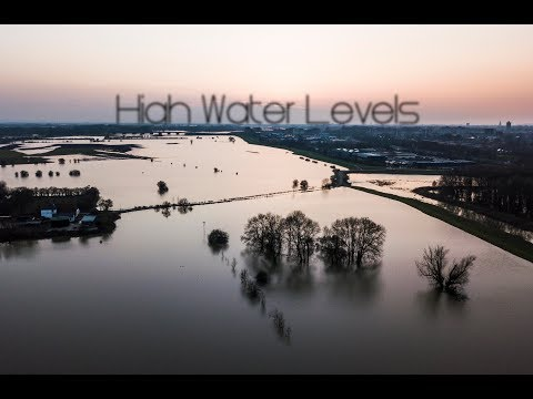 High Water Levels - River IJssel