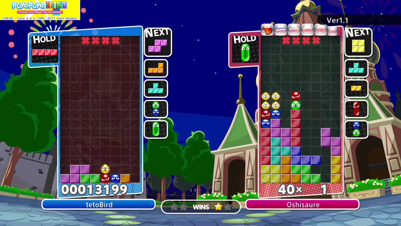 [Puyo Puyo Tetris] T-Spin Triple but in fusion by Lilla Oshisaure