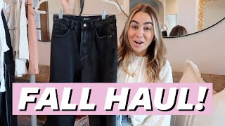 FIRST FALL TRY-ON HAUL! Nastygal   Julia Havens