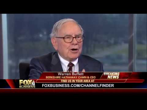 Will Always Have Too-Big-to-Fail Banks -Warren Buffett Fox Business Channel 1/21/2010