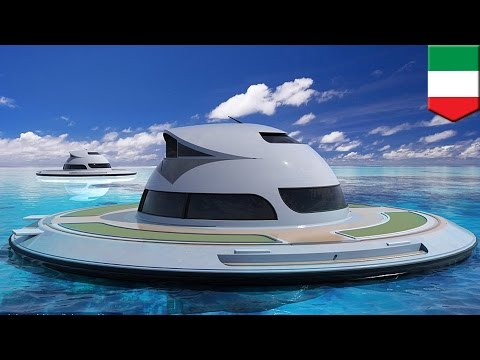 UFO yachts: Futuristic floating houseboats to hit the seas by 2018 - TomoNews