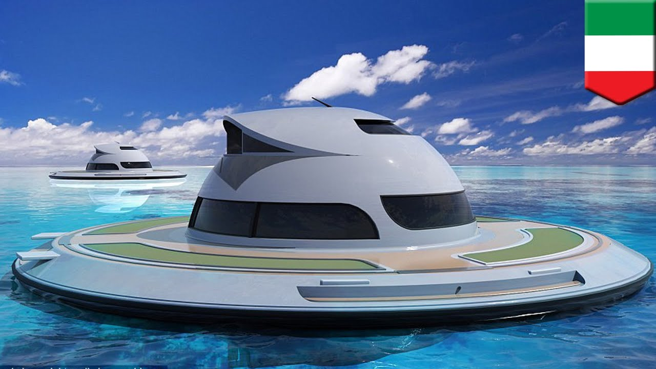 Ufo Yachts Futuristic Floating Houseboats To Hit The Seas