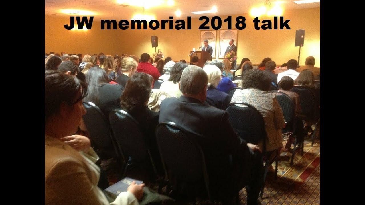 JW org Memorial Talk 2018 (Audio recording UK)