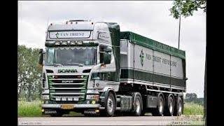VAN TRIEST met Scania V8