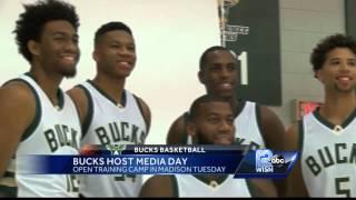 Bucks Host Media Day Ahead Of Training Camp