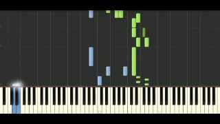 österreich - munou - Tokyo Ghoul √A Opening - Piano Tutorial Synthesia