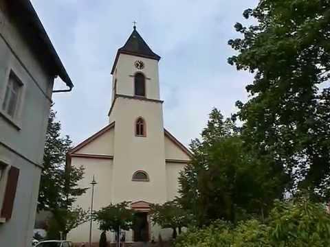930.Kath. Nikolauskirche Ichenheim (3/4) / Eglise Cath. St-Nicolas Ichenheim (3/4)