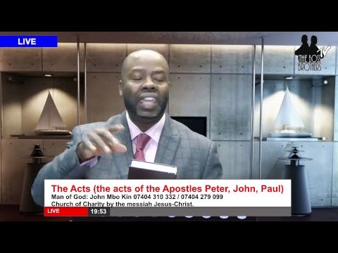 John Mbo Kin: The Acts (the acts of the Apostles Peter, John, Paul)