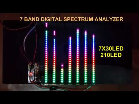 7 BAND SPECTRUM ANALYZER - YouTube