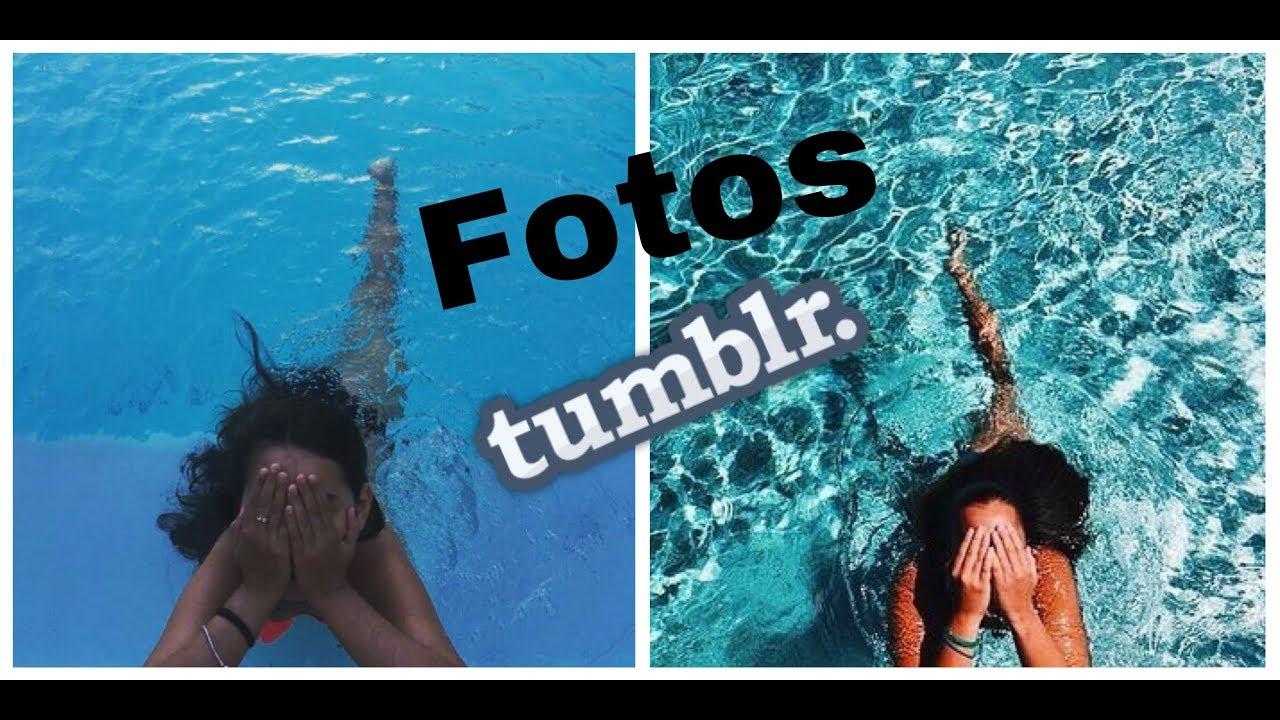 Imitando fotos tumblr na piscina youtube for Piscinas fotos modelos