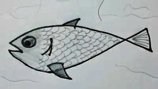 Como dibujar un pescado