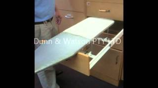 D&w - Slide Out Ironing Board
