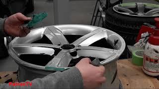 Alternatywna naprawa Alufelg z mocnymi ubytkami w aluminium