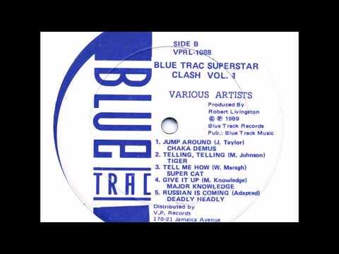 Super Cat - Tell Me How - LP Blue Trac Records 1989 - CLASSIC DIGITAL 80'S DANCEHALL