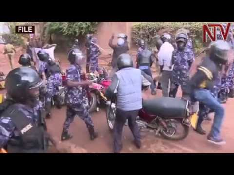 Police boss denies ordering officers to beat Besigye supporters