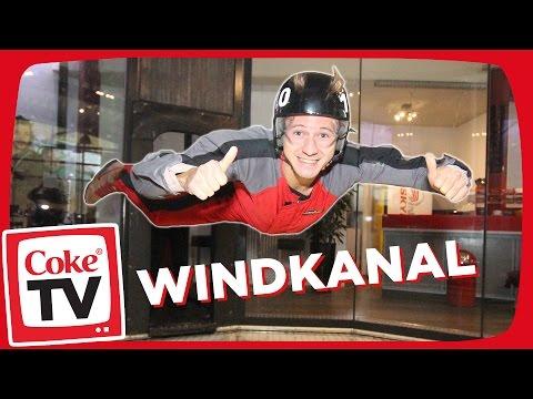Mit izzi im Windkanal | #CokeTVMoment