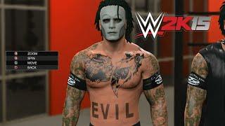 wwe 2k15 vampiro PS4 Download PSN Tattoo Misfits Caw Classic TNA