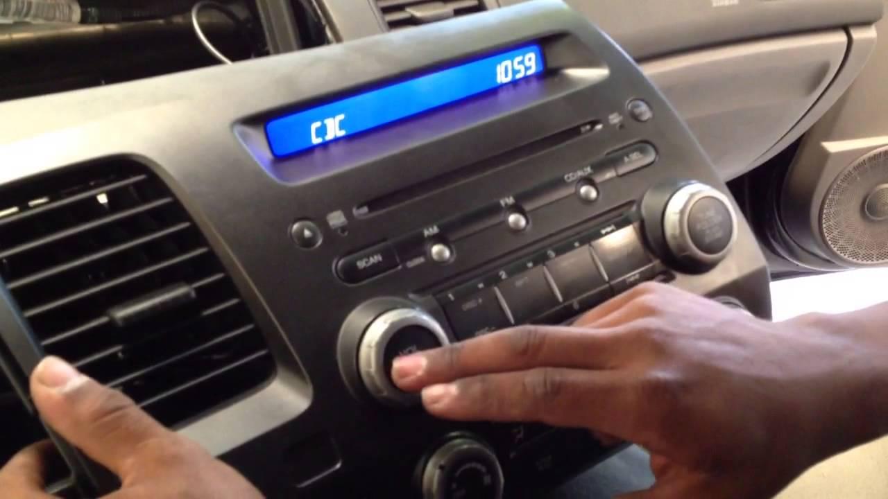 Adaptador Interface USB e SD para radio original Honda Civic - YouTube