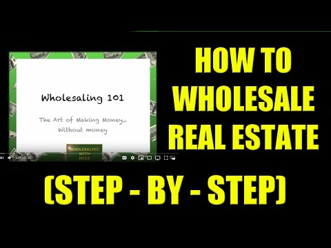 """How to Wholesale Real Estate (The Step-by-Step """"How To"""" Process)"""