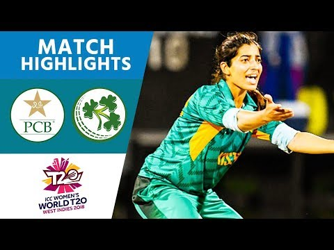 Pakistan v Ireland - Women's World T20 2018 highlights