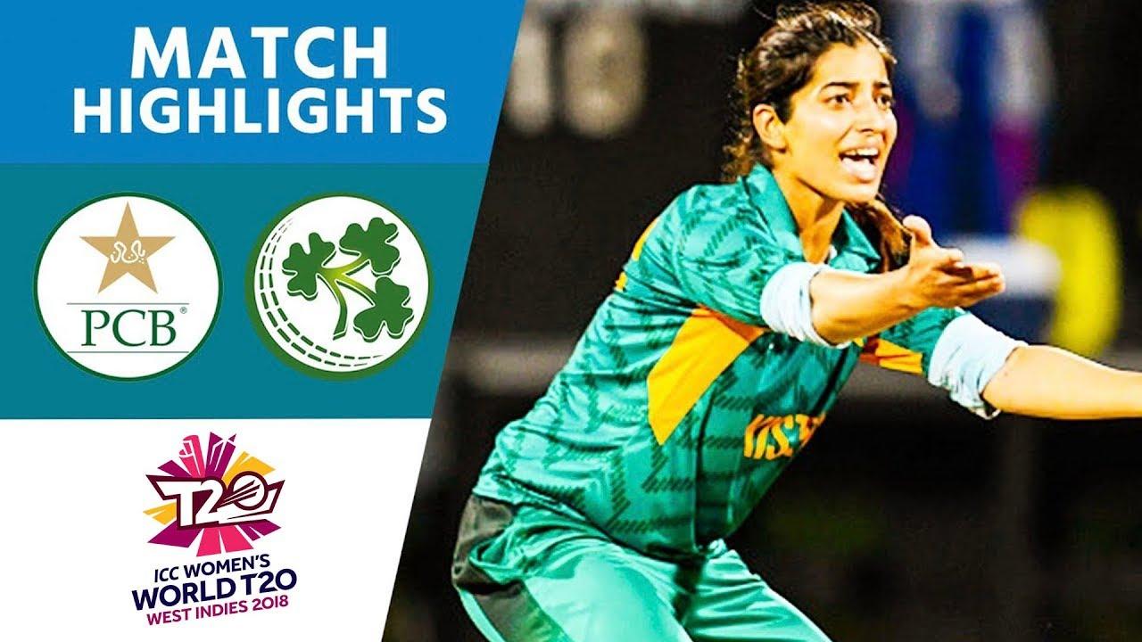 Pakistan v Ireland - Women's World T20 2018 highlights