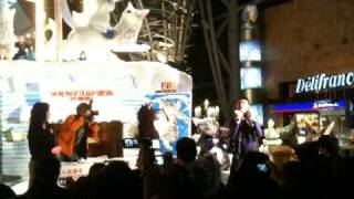 11/17香港朗豪坊WF聖誕主裝置開幕活動.