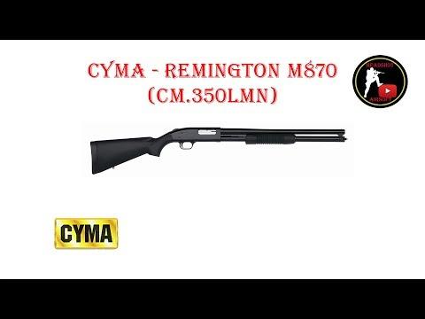 [ОБЗОР] CYMA - REMINGTON M870 SPRING CM.350LMN airsoft (страйкбол)