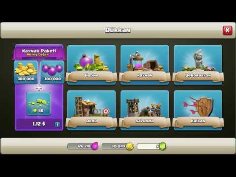 Clash of Clans gems Kasma