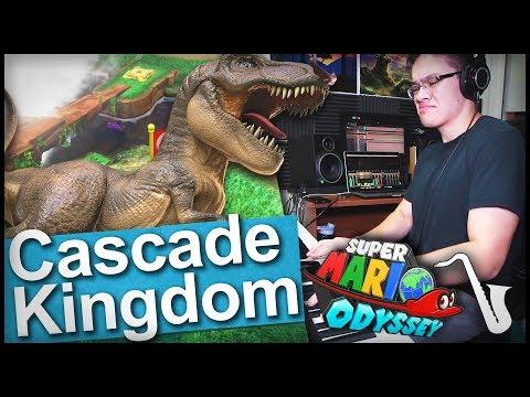 Mario Odyssey: Cascade Kingdom (Fossil Falls) Fusion Jazz Arrangement || insaneintherainmusic