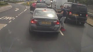ROAD RAGE caught on Camera. (Man Gets Punched in Face)