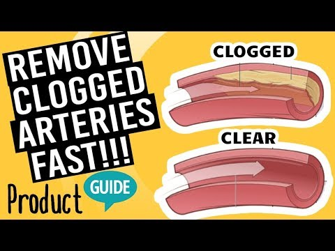 Only Supplements that Remove Clogged Arteries And Reduce Cholesterol