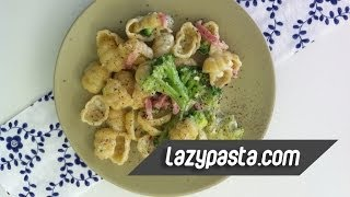 Classic Gnocchi With Broccoli And Bacon | Easy Pasta Recipes By Lazy Pasta