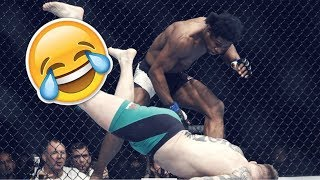 Funny MMA Knockouts ● Unexpected l Wired l Fails KOs