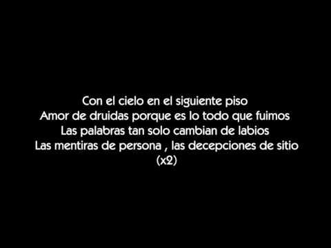 AJ - Amor de druidas [LETRA]