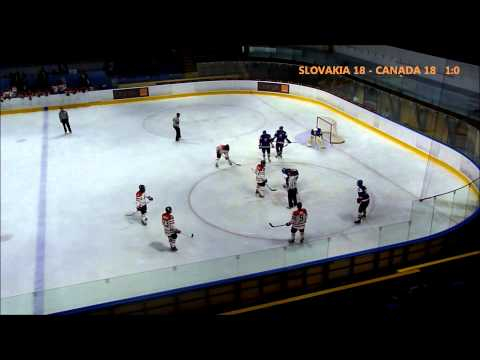 SLOVAKIA U18 - CANADA U18 / 2nd period