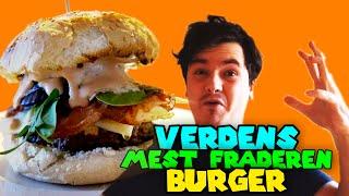 VERDENS MEST FRÅDEREN BURGER! - Caspers Køkken