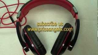 Kanen Extra Bass Adjustable Stereo Headphone with Microphone for iPhone iPad iPod