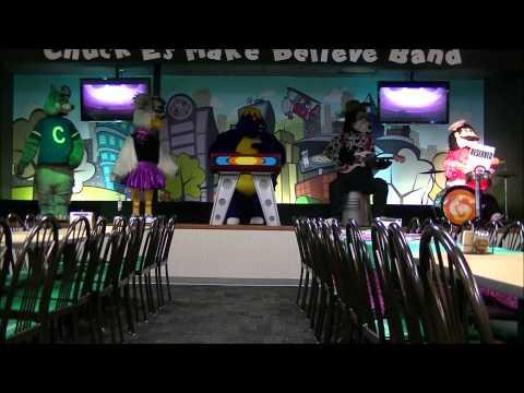 Chuck E  Cheese Springfield IL April 2014 show segment 4
