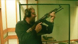 Strzelanie z Kałasznikowa na strzelnicy – Białystok video