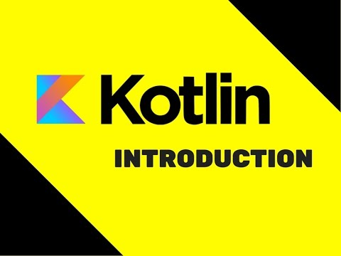 #1 Kotlin Tutorial | Introduction