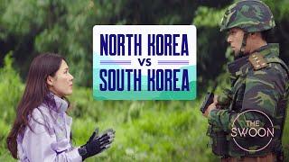 The two Koreas according to Crash Landing on You [ENG SUB]