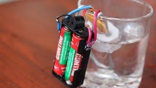 Cara membuat alarm air