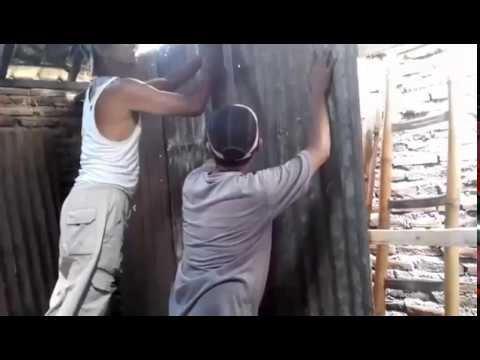 Memanfaatkan Seng Bekas Untuk Dinding Rumah Kuat Dan Awet