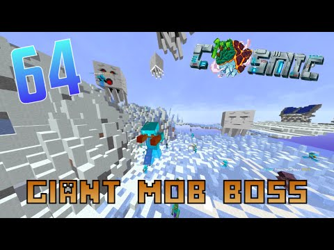 CosmicPVP Factions Ice Planet S2 E64 - GIANT MOB BOSS!!