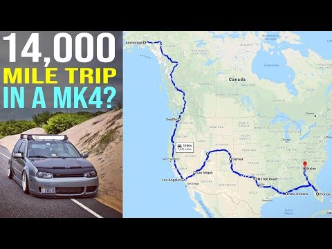 Why One MK4 Wagon Drove 14,000 Miles Across North America