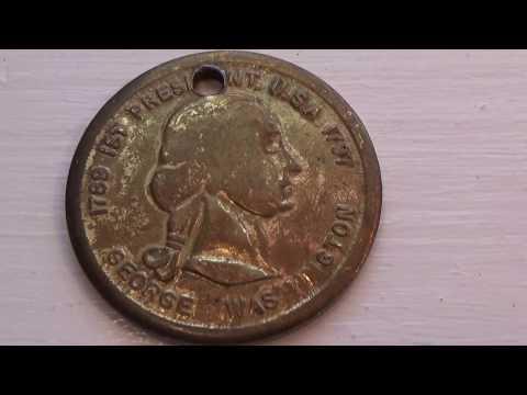 1789 George Washington 1st President Coin