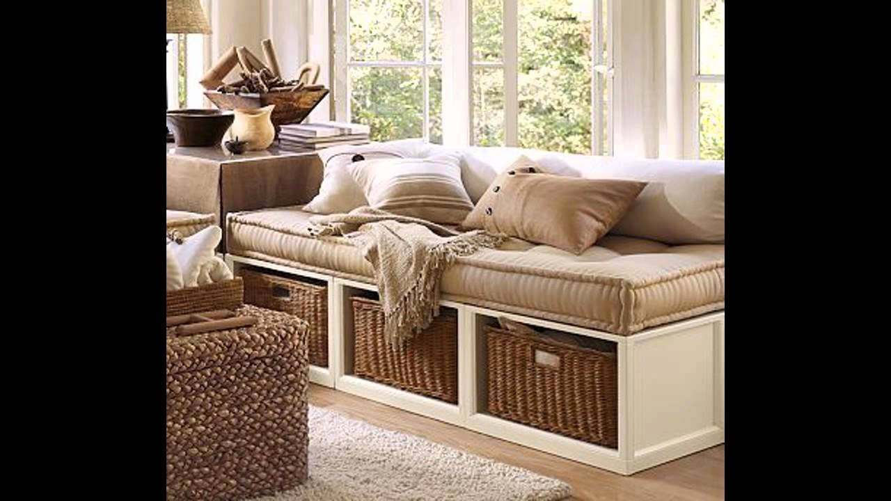 Small Storage Ottoman Bench