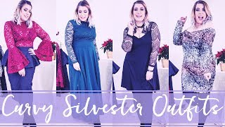 Curvy Silvester & Party Outfits | #Violetweek 💜